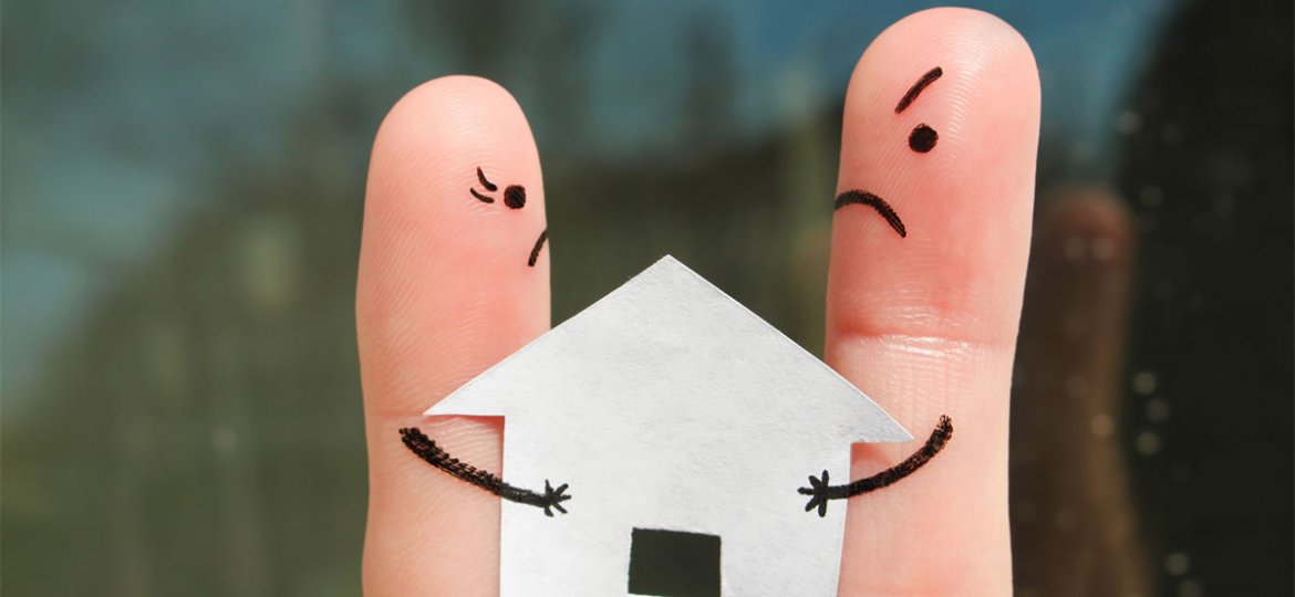 options on property on divorce